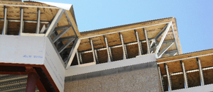 cropped picture of parapet cap